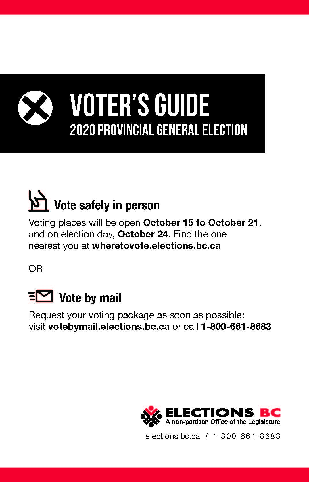 Voter's Guide cover